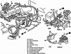 2 2l s10 engine diagram u 1990 s10 2 5lt on the vacuum lines there is one located by the ac vacum it is a5