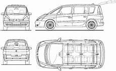 Blueprints Gt Cars Gt Renault Gt Renault Espace Iv 2013