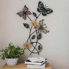 butterfly home decor garden butterfly metal wall painted decorative