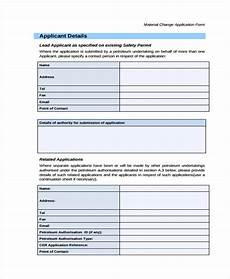 free 35 change forms in pdf