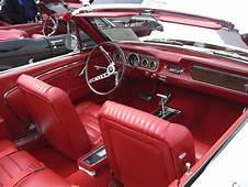 Wimbledon White 1965 Ford Mustang Convertible