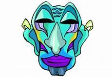 Afrikanische Muster Malvorlagen Pdf Afrikanische Masken Malvorlagen