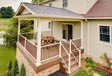 deck with roof over and stone veneer traditional deck philadelphia by stump s quality