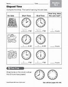 time practice worksheets for 3rd grade 3681 elapsed time practice 16 5 worksheet for 1st 2nd grade lesson planet