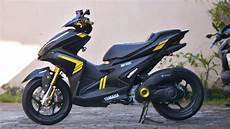 Aerox Modif by Test Ride Aerox Modifikasi Simple Part 2