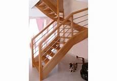escalier classique 2 4 tournant sans jour