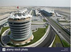 Aerial View Of The Bahrain International Circuit Bic