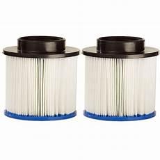 filtre pour spa gonflable aqua spa pack de 2 filtres pour spa gonflable ref as101