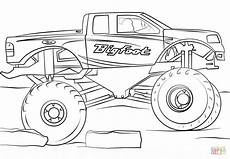 get this bigfoot truck coloring page 73610