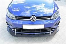 golf vii facelift vw golf vii r facelift hybrid front racing splitter