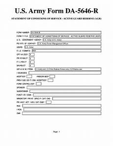 form 5646 fillable online u s army form da 5646 r statement of