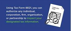 irs form 8821 tax information authorization