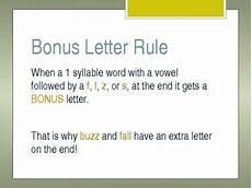 bonus letter worksheets 23982 quot bonus letter quot rule powerpoint by sped and sprinkles tpt