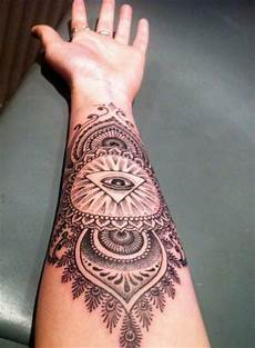 mandala lower arm design tattooshunt