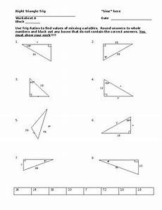right triangle trig worksheet by chris smith teachers pay teachers