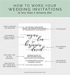 How To Write Wedding Invitations how to write your wedding invitation message pipkin
