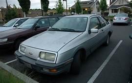 OLD PARKED CARS 1987 Merkur XR4Ti
