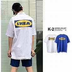 ikea t shirt logo sleeved and shopee