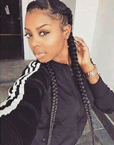two braids going back in 2019 braided hairstyles two braids style two braids hairstyle black