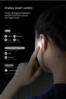 Truly Wireless Baseus Encok Mini Dual by Truly Wireless Baseus Encok W02 Mini Dual Bluetooth