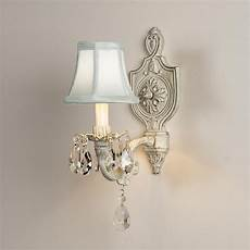 vintage cream cottage chic sconce wall sconces by shades of light