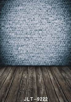 5x7ft Abstract Vintage Vinyl Photography Backdrop by Abstract Vintage Photo Background Brick Wall Wooden Floor