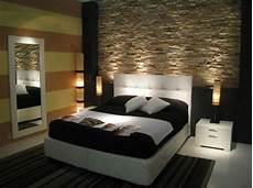 decorazione da letto decorare una parete con le pietre in da letto 20