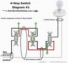 3 Way 4 Switch Wiring Diagram Ask The how to wire a 4 way switch
