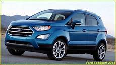 ford ecosport 2018 new 2018 ford ecosport review