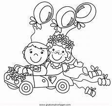 Malvorlagen Hochzeit Auto Hochzeitsauto 2 Gratis Malvorlage In Beliebt13 Diverse