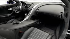 Black And Blue Bugatti Chiron Interior And Exterior Lands