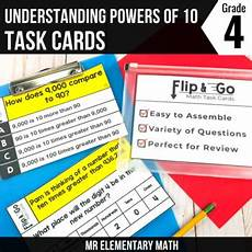place value relationships 4th grade worksheets 5526 place value relationships task cards 4th grade math centers tpt