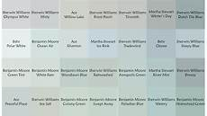 the search for the blue gray green paint colors for the bedroom and kitchen continues