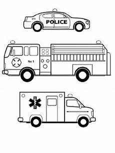 emergency services vehicles colouring pages 16512 emergency vehicles coloring sheet by steven s social studies tpt