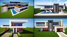 minecraft modern house plans minecraft 30 awesome modern house ideas tutorial