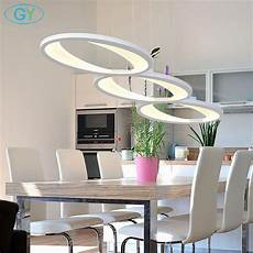 lustre salle à manger modern acrylic led pendant light l100cm 39in 48w kitchen