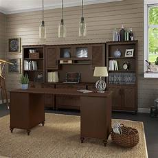 kathy ireland home office furniture kathy ireland volcano dusk double pedestal desk office