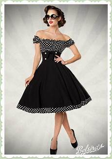 belsira 50er jahre rockabilly petticoat kleid