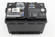 autobatterie golf 6 original vw golf 6 gti r agm batterie 7l0915105 varta 12v