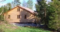 blockhaus schweden alleinlage auf einer halbinsel am see