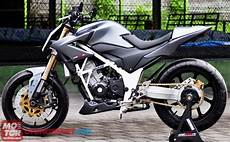 Modifikasi Motor Cb 150 by Modifikasi Honda Cb150r Fighter Gambar Modifikasi