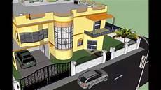 plan maison moderne 3d conception 3d projet villa duplex