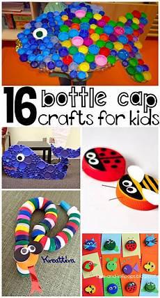Basteln Mit Flaschendeckeln - basteln mit pet flaschen deckeln bastelideen