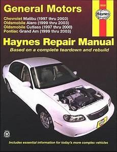 old cars and repair manuals free 1997 pontiac bonneville auto manual alero cutlass grand am repair manual 1997 2003 haynes