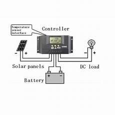 30 intelligent solar regulator with lcd screen itechworld