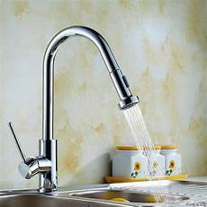 kitchen tap faucet kitchen sink pull out spray mono mixer faucet tap ebay