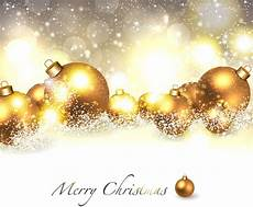 merry christmas background with golden ball free vector in adobe illustrator ai ai format