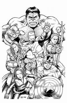 characters comics coloring