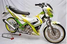 Modifikasi Motor Fu by Gambar Motor Satira Fu Modifikasi Terbaru Lengkap Zakinawawi
