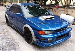 Subaru Impreza GC8 4 Doors BAR Design Fender Flares